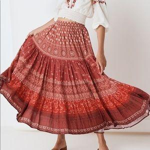 Spell x TUULA Gypsiana Maxi Skirt